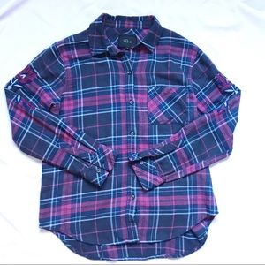 Rails Embroidered Flannel